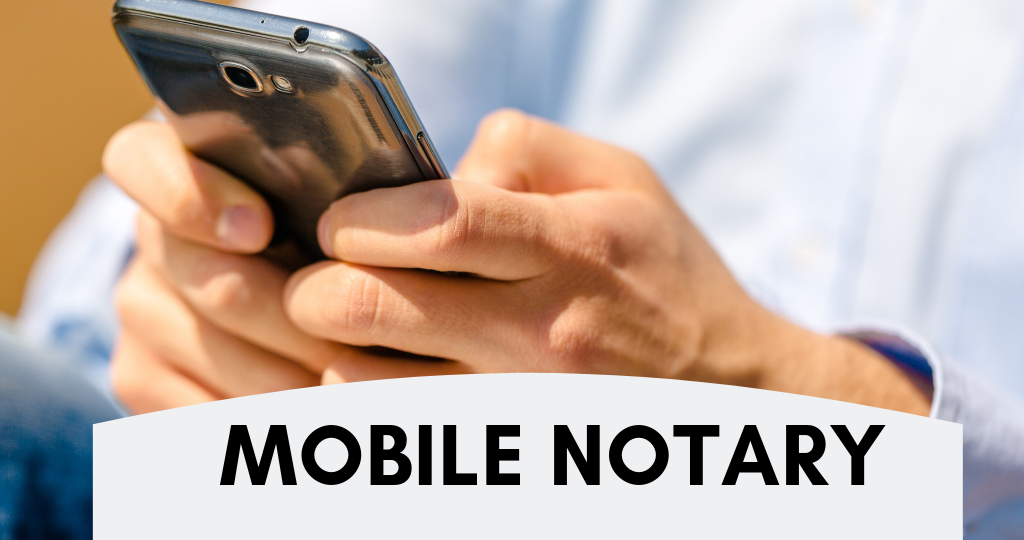 Call Mobile Notary Boston MA