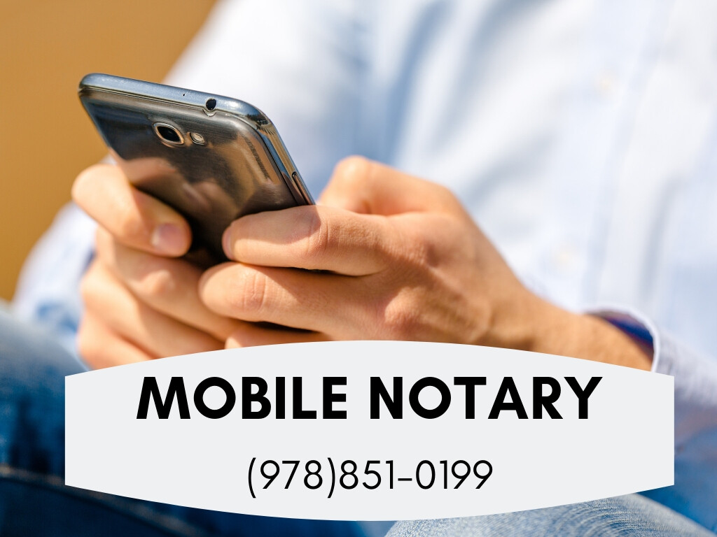 Call Mobile Notary Newton MA