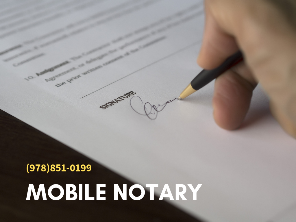 Weekend Mobile Notary Public