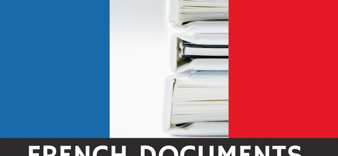 French Documents Notary Service