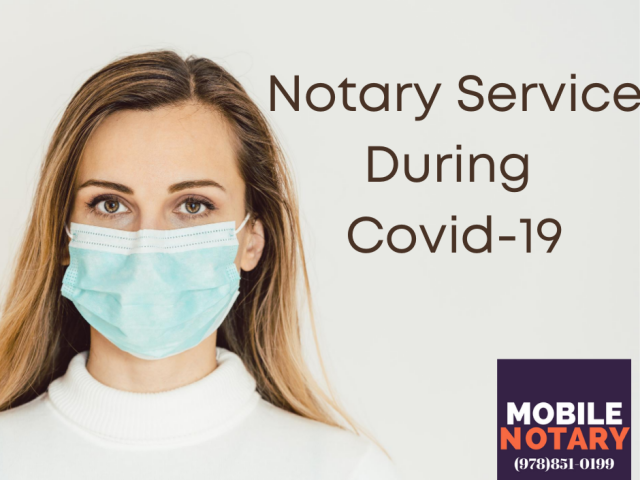 Notary Service During Covid-19